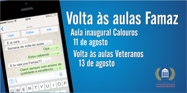 volta as aulas site