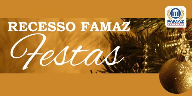 Recesso FAMAZ
