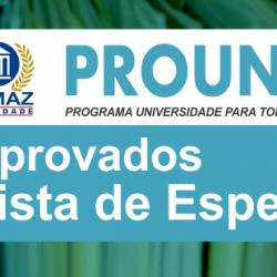 2015 Prouni aprovados