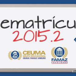 Rematrícula 2015.2