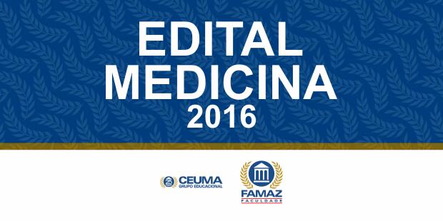 Edital Medicina