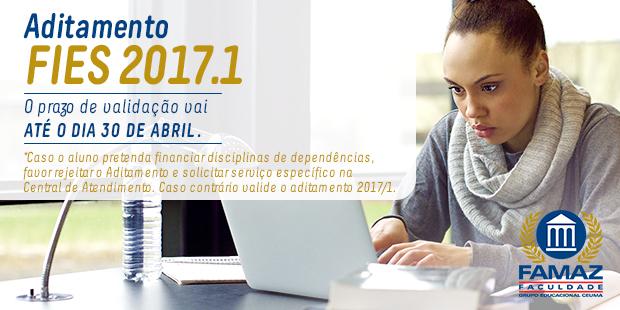 SITE_aditamento_fies_2017.1 FAMAZ